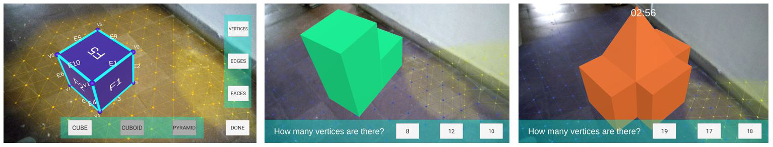 ScholAR - Vertices, Edges and Faces